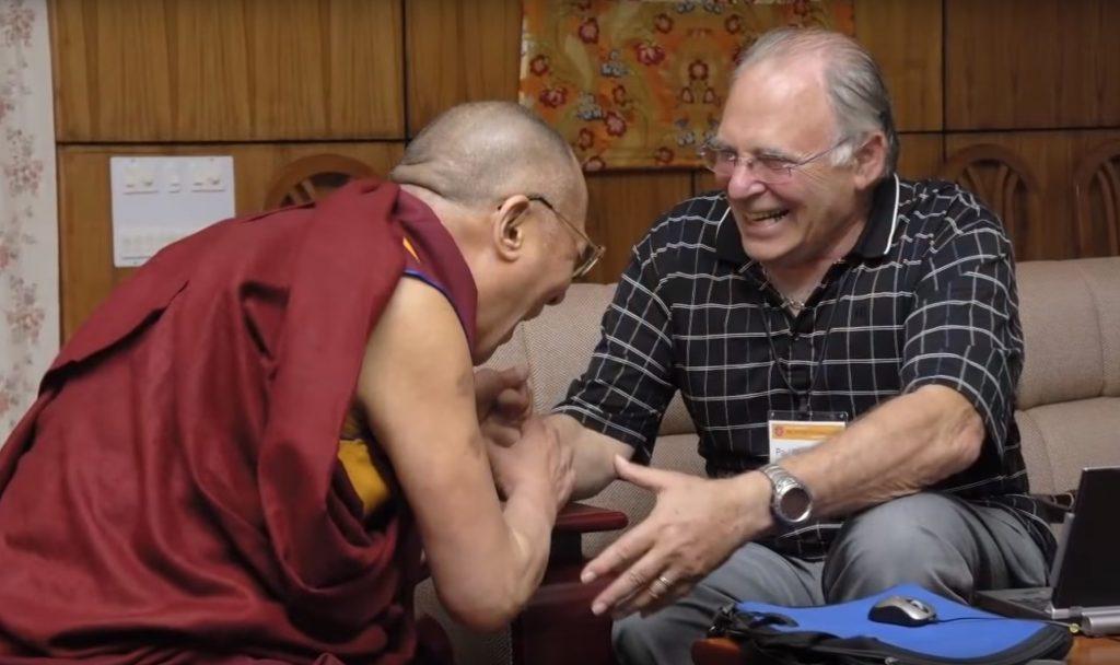 A Dalai Láma és Paul Ekman