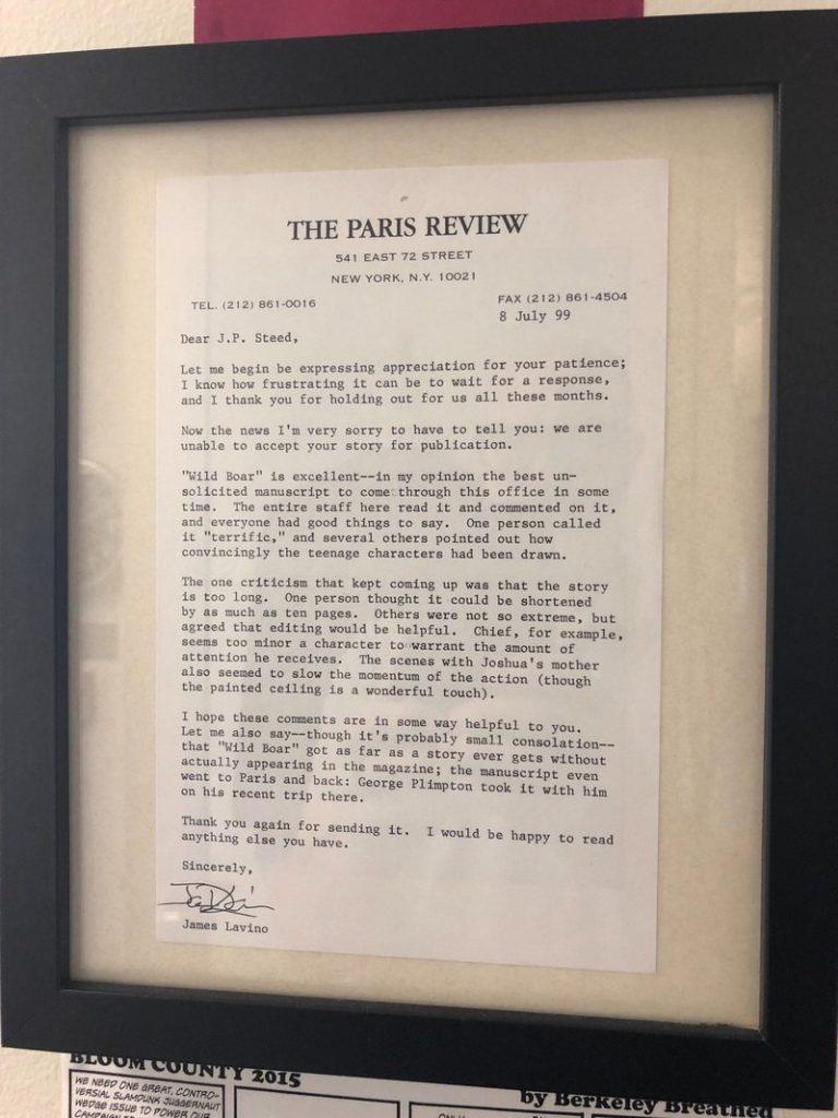 Visszautasító levél, nemet mondás
